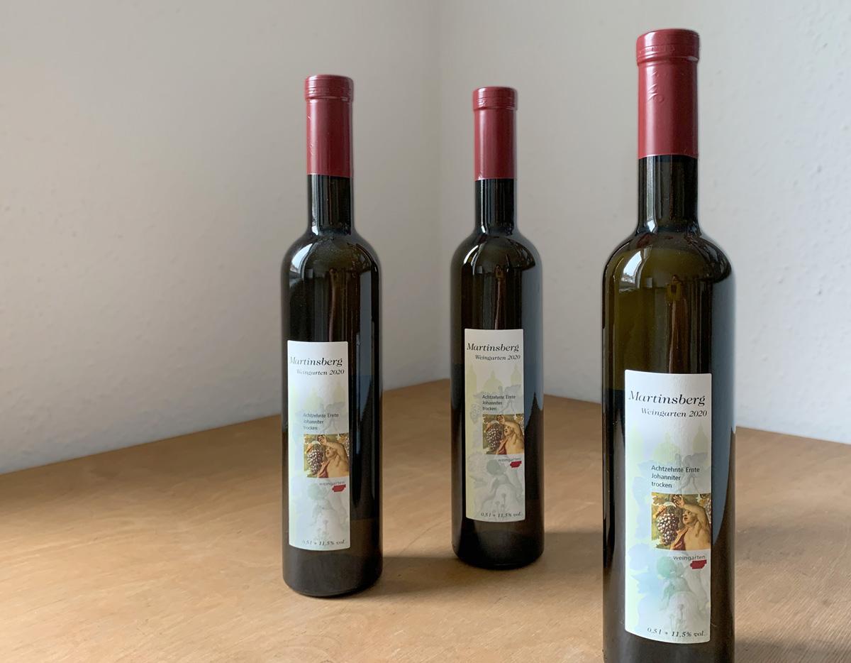 Der neue Martinsberg-Wein ist da