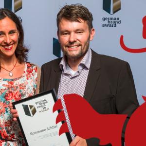 German Brand Award 2016:  für Corporate Design-Konzept der Gemeinde Schlier