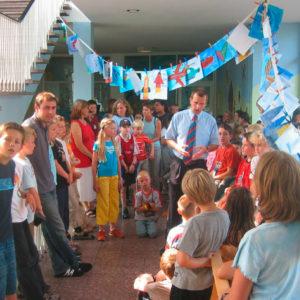 Kinderkrankenhaus Ravensburg: Verschönerung der Innenräume