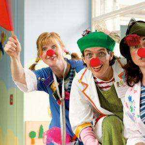 Klinik-Clowns: Lachen ist die beste Medizin