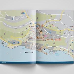 Meersburg aktuell, Stadtplan
