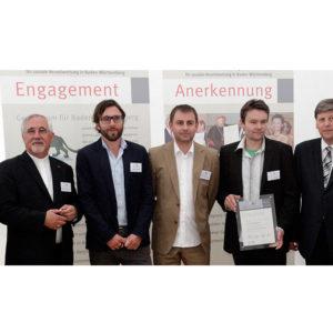 Mittelstandspreis für soziale Verantwortung in Baden-Württemberg 2011