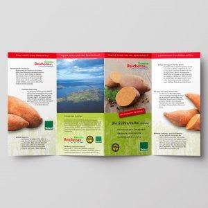 Info-Flyer zur Süßkartoffel, 2014