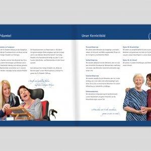 Leitbid-Broschüre der St. Elisabeth-Stiftung