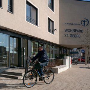 Signaletik für den Wohnpark St. Georg in Meckenbeuren