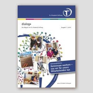 """Mitarbeitermagazin """"dialog"""" der St. Elisabeth-Stiftung"""