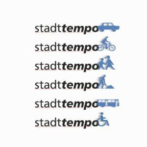 Stadttempo – Logo Varianten