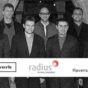 Wirtschaftspreis der Stadt Ravensburg 2003: d-werk GmbH und radius GbR